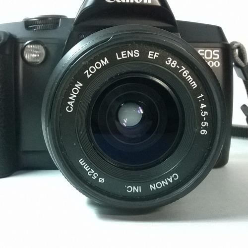 camara automática canon eos 5000 35mm, impecable 38 - 76 mm
