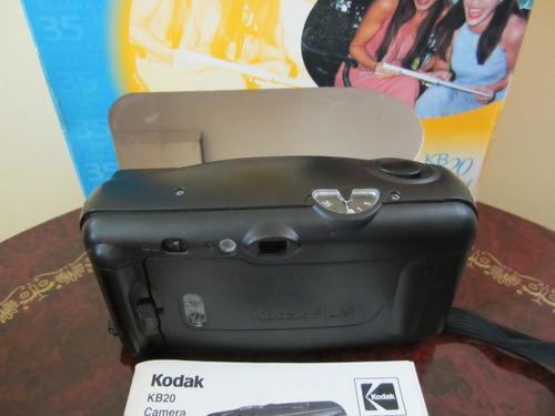 cámara automática kodak modelo kb20 rollo 35mm
