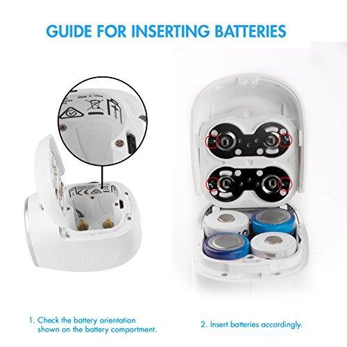 cámara baterías baterías
