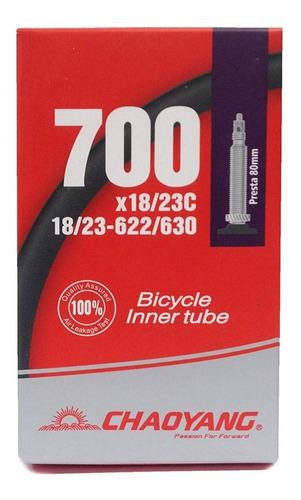 camara bicicleta chaoyang 700 x 18/25 60mm - racer bikes