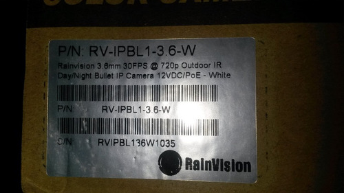 camara bullet exteriores ip rainvision
