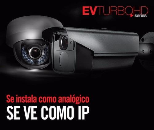 cámara bullet turbohd 1080p con lente fijo de 2.8mm e ir 80m