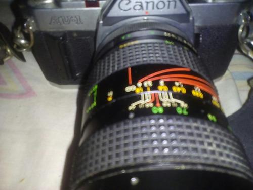 camara cannon av-1 analogica de coleccion