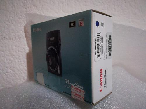 cámara cannon power shot elph 150 is azul. juguetiness