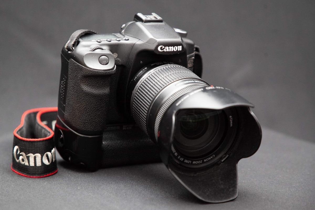 Camara Canon 50d Con Battery Grip Y Lente Canon 18-200 - $ 7,650 00