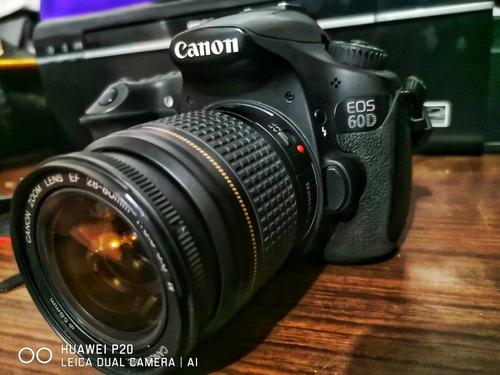 cámara canon 60d excelente estado