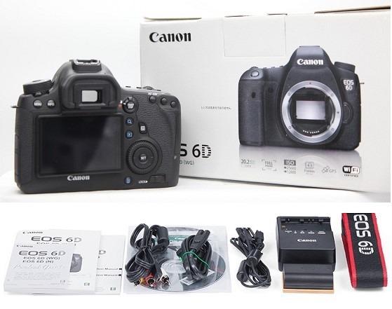 Camara Canon 6d Wg Body - Full Frame - Efvo - $ 33.000,00 en Mercado ...