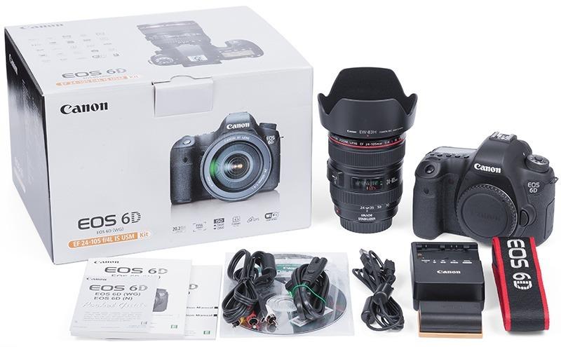 Camara Canon 6d Wg Kit 24-105 - Full Frame - Nuevas - Gtia ...
