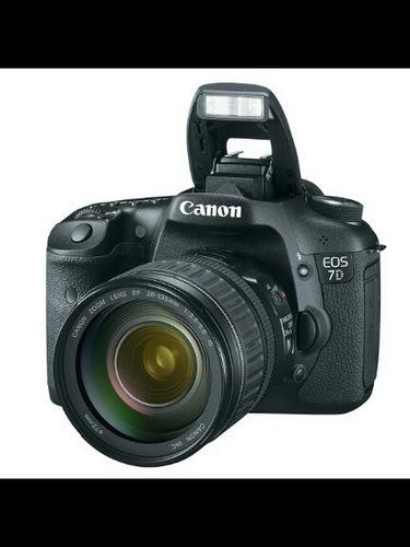 cámara canon 7d