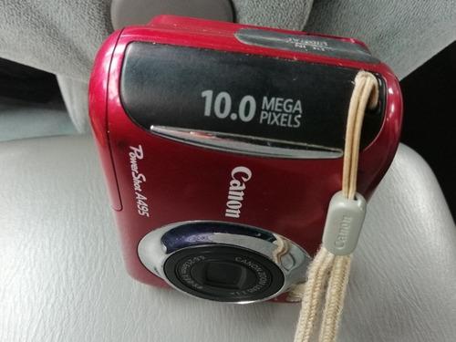 cámara canon - color guinda