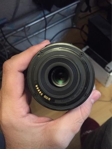 cámara canon con