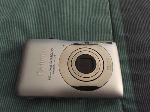 cámara canon de 12.1 megapixceles