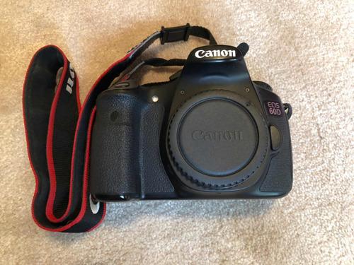 camara canon eos 60d con lente canon 50mm y accesorios