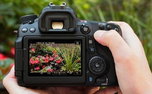 camara canon eos 70d wifi con lente 18-55 100% original