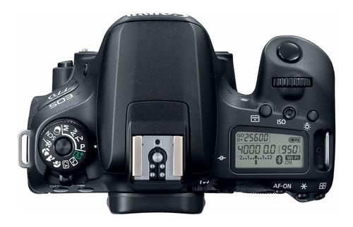 camara canon eos 77d +  lente ef 18-135 usm