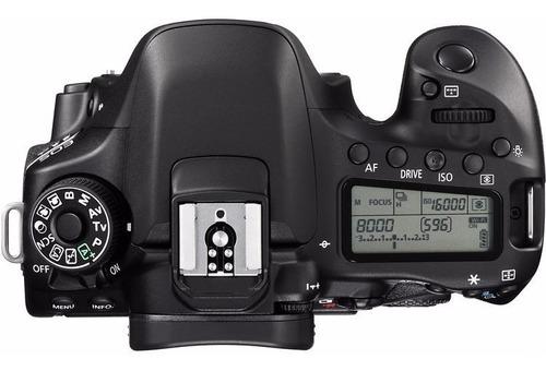 cámara canon eos 80d solo cuerpo 24.2mp wi-fi en stock nueva
