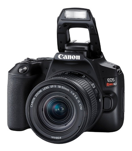cámara canon eos rebel sl 3 (combo 54) ef s18-55 + ef 75-300