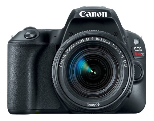 cámara canon eos rebel sl2 c/ lente ef s18-55 is stm