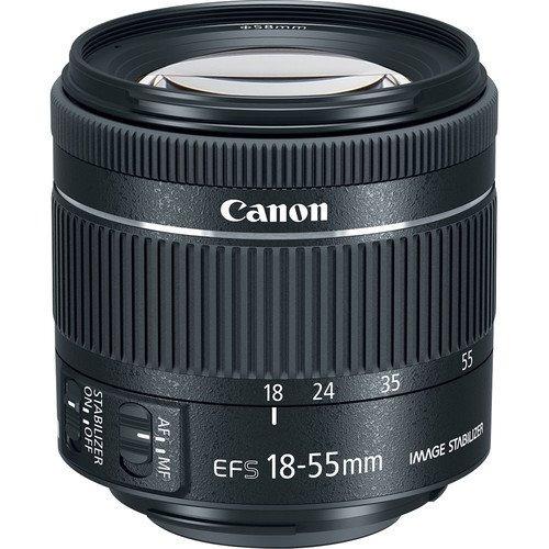 cámara canon eos rebel sl2 con lente ef-s 18-55mm is stm 24.