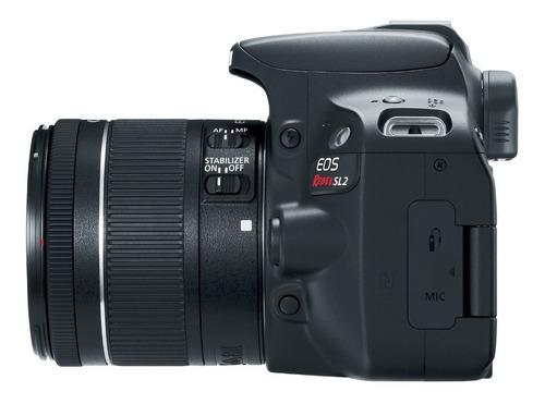 cámara canon eos rebel sl2(combo 48)+ ef s18-55 is+ef 75-300