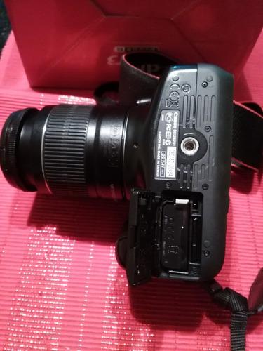 camara canon eos rebel t3 con accesorios