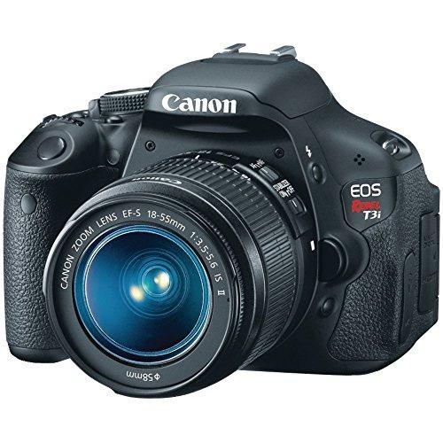 cámara canon eos rebel t3i slr ef-s 18-55mm f/3.5-5.6 is