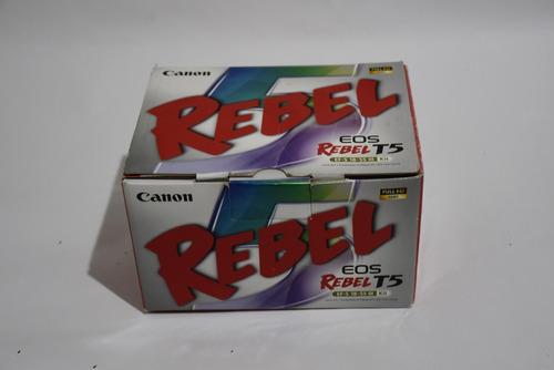 camara canon eos rebel t5.