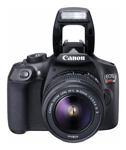 cámara canon eos rebel t6 (combo 40)+ ef s18-55 + ef 75-300