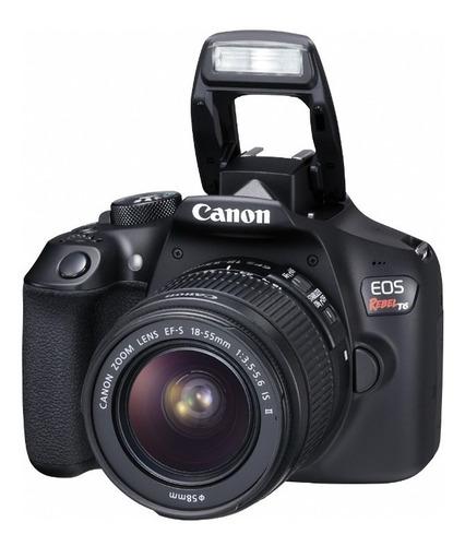cámara canon eos rebel t6 (combo 44)+ ef s18-55 +ef 50 f/1.8