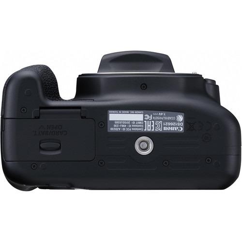cámara canon eos rebel t6 con 18-55mm lente