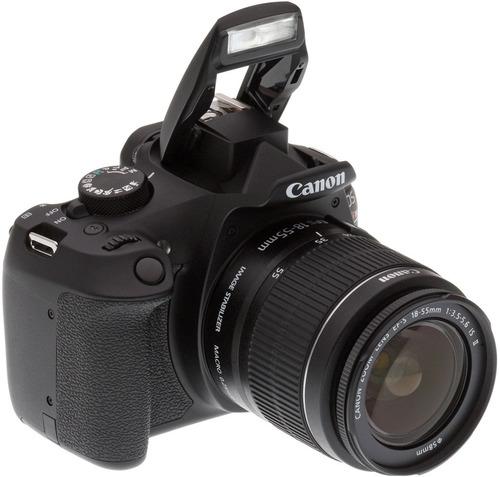 camara canon eos rebel t6 kit 18-55mm wifi 18mp full hd