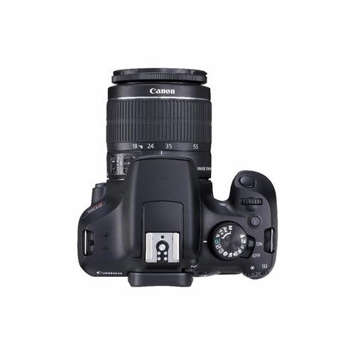cámara canon eos rebel t6 premium kit + 75-300mm + maleta