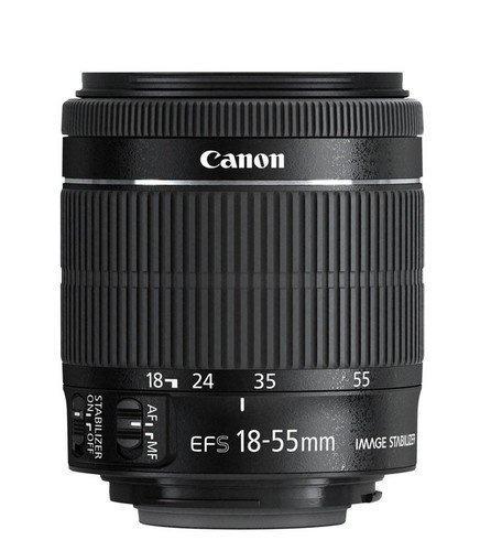 cámara canon eos rebel t6i dslr cmos slr ef-s 18-55mm