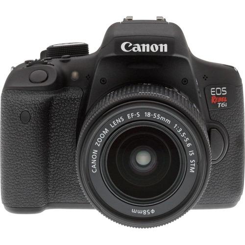 cámara canon eos rebel t6i kit 18-55mm