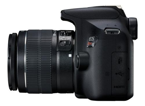 camara canon eos rebel t7 kit 18-55mm wifi 24mp full hd gti.