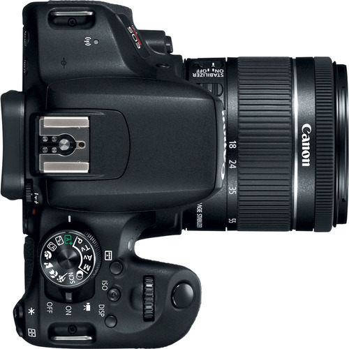 cámara canon eos rebel t7i dslr 18-55mm
