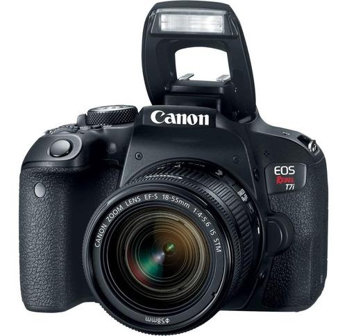 cámara canon eos rebel t7i / eos 800d kit 18-55mm