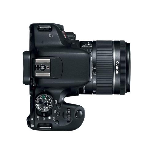 cámara canon eos rebel t7i kit 18-55mm