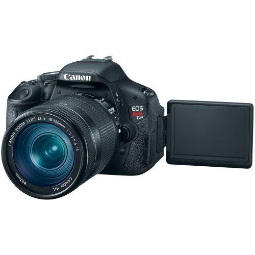 cámara canon eos t3i slr ef-s 18-135mm f/3.5-5.6 is