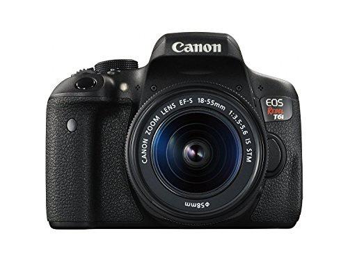 cámara canon eos t6i 24.2 mp ef-s slr ef-s 18-55mm vellstore