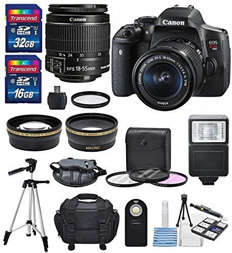 cámara canon eos t6i ef-s 18-55mm is stm