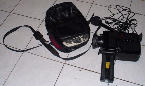 camara canon filmadora 312xl-s con estuche y micrófono