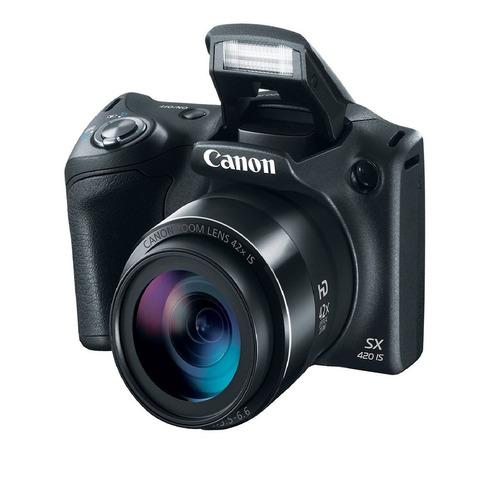 camara canon fotográfica powershot sx420 20 mpx 42x wifi