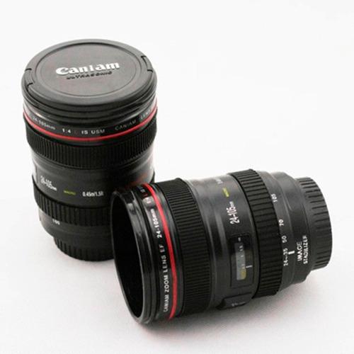 cámara canon lente
