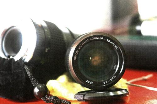 camara canon lentes para