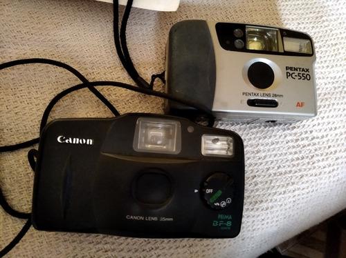 camara canon pentax 28 mm 35 mm
