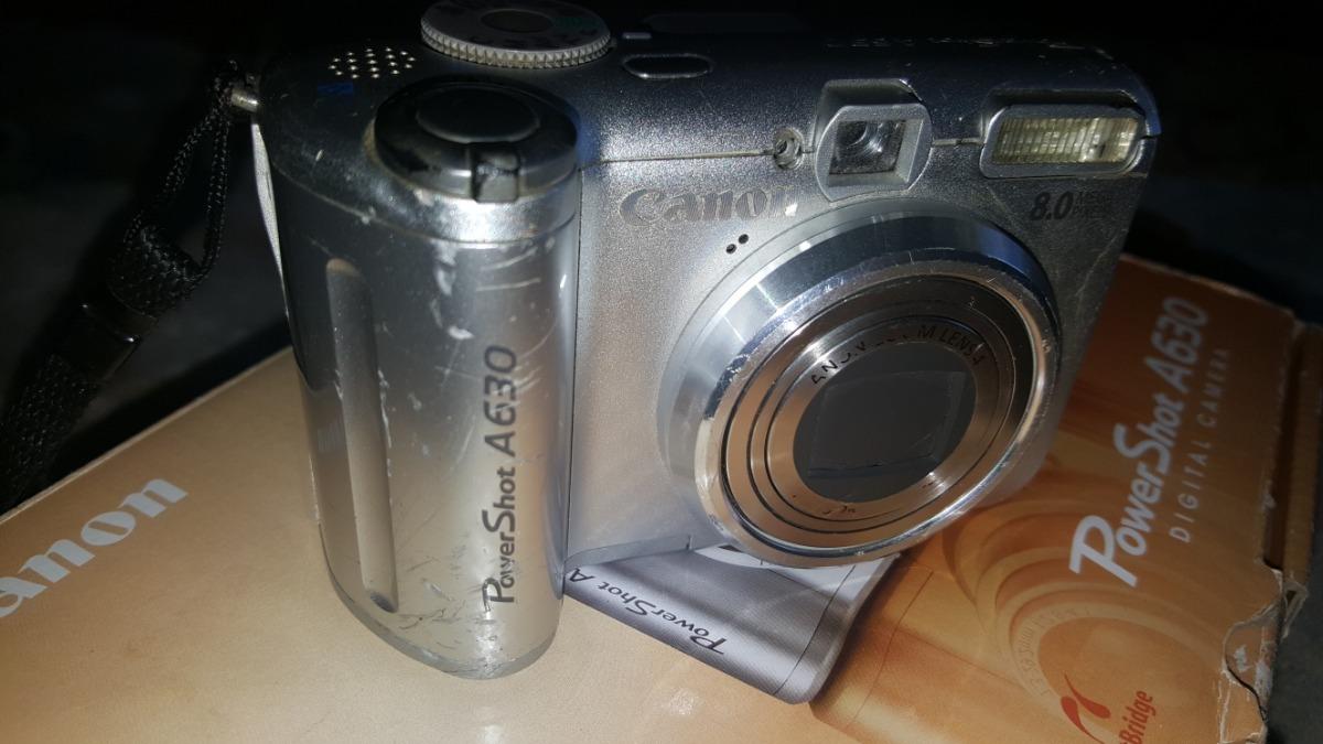 Fuente de alimentación de cámara para Canon PowerShot a630 a-630