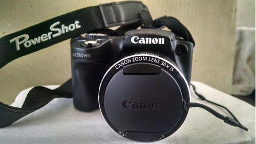camara canon power shot sx510 60x con zoomplus