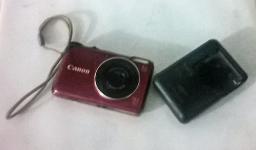 camara canon powershot a2200 red refurbished
