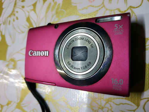 camara canon powershot a2300 hd 16mpx zoon optico 5x
